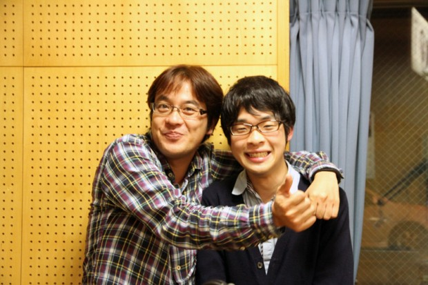 FMくらしき大谷利文さんと越智健輔さん