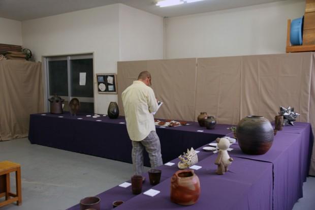 陶芸作品展示