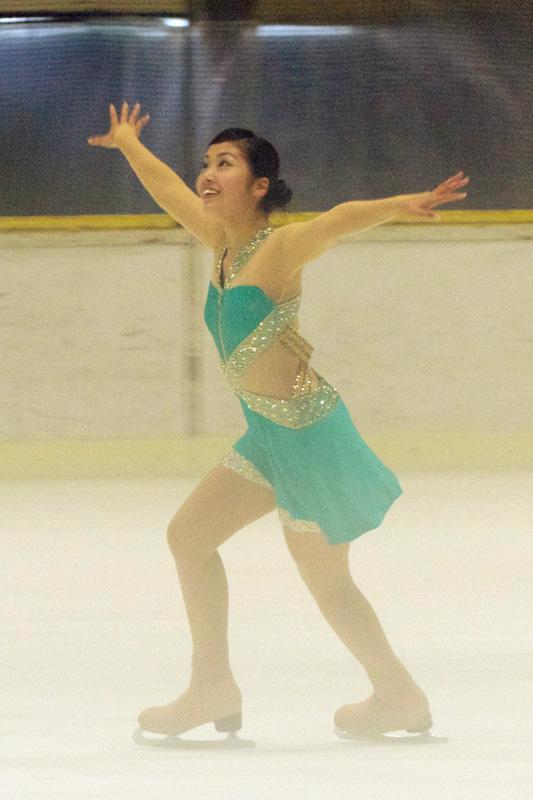 フィギュアスケート部:壬生川真優さん