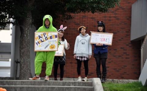 ハロウィン仮装イベントを開催しました。