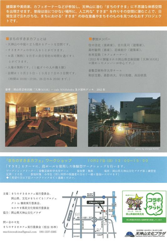 「まちのすきまカフェ」ワークショップ
