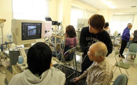 健康科学科川上ゼミの地域貢献活動について