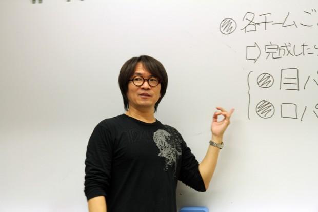 メディア映像学科教授中川浩一先生