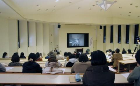 「アートの今」公開講演会が開催されました。