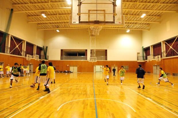 バスケットボール部練習風景1