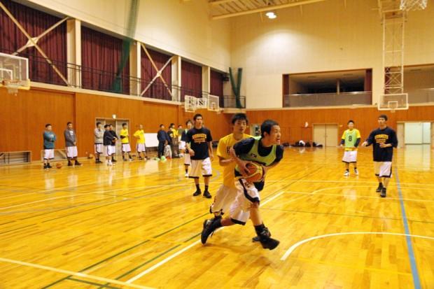 バスケットボール部練習風景2