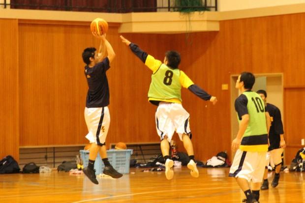 バスケットボール部練習風景3
