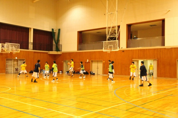 バスケットボール部練習風景5