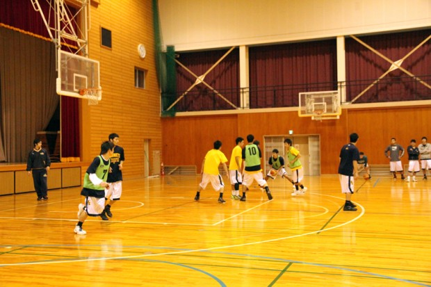 バスケットボール部試合形式