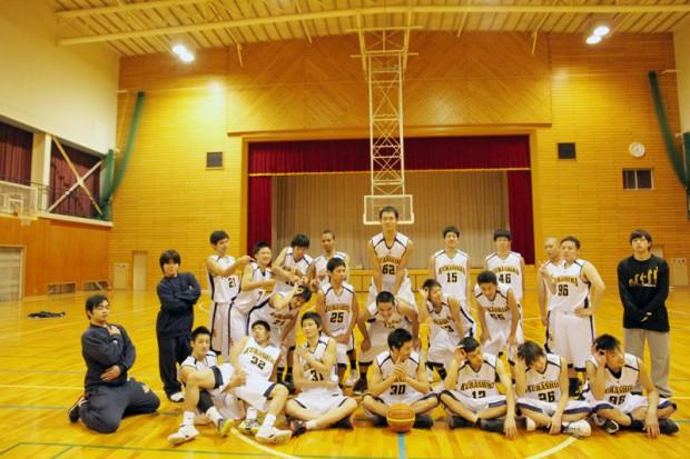 バスケットボール部集合写真