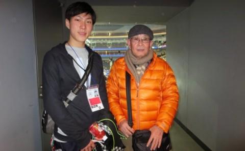 田中刑事さん全日本フィギュアスケート選手権大会において8位入賞!