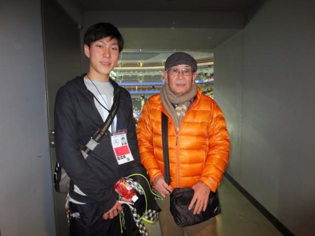 フィギュアスケート部:田中刑事さん