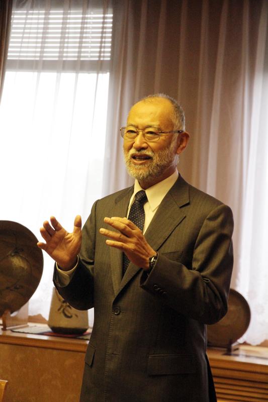 倉敷芸術科学大学学長唐木英明先生