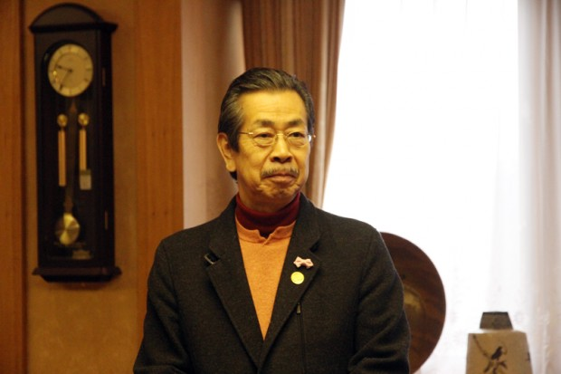 芸術学部長児島塊太郎先生