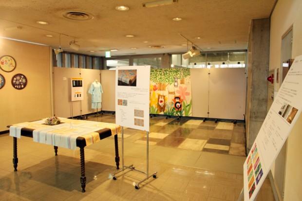 作品展示の様子