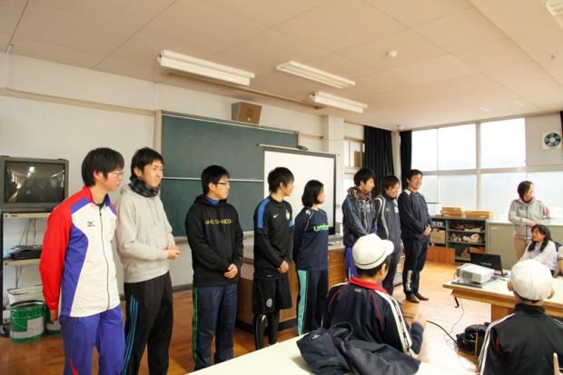 倉敷市立本荘小学校での出張講義
