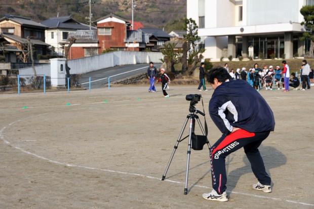 高速度カメラで撮影