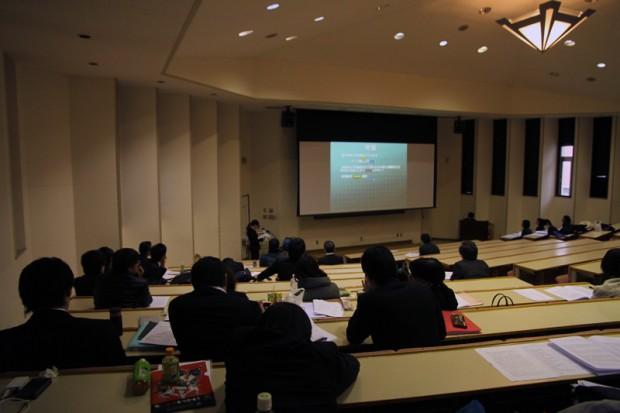 健康科学科の卒業研究発表会
