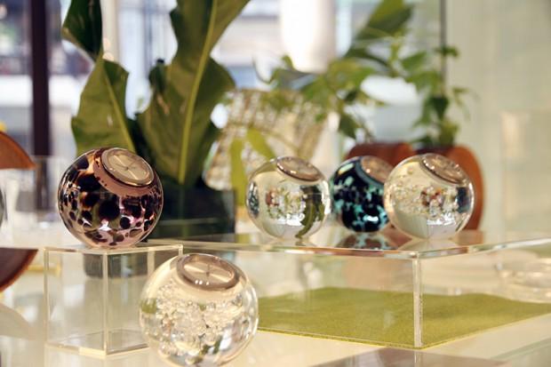 きれいなガラス製品