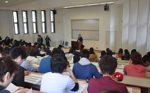 在学生オリエンテーションが開催されました