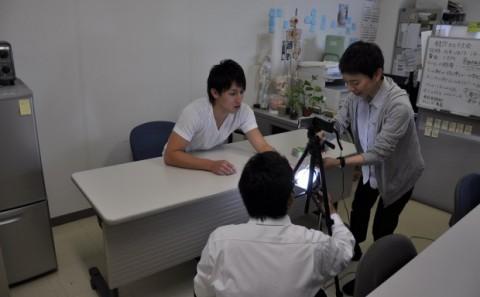 健康医療学科(現 健康科学科<鍼灸専攻>)の学生がYouTubeで鍼灸講座公開中Vol.1