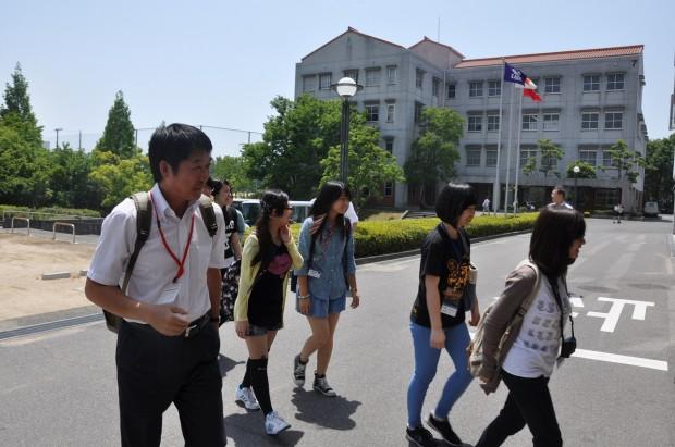 台湾致理技術学院訪日研修団の皆さん