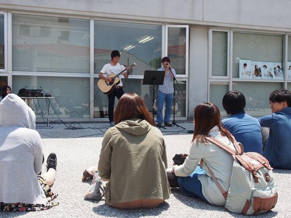 アコースティックギター部ライブ