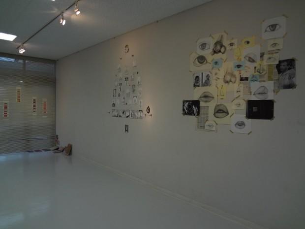 ドローイングの展示