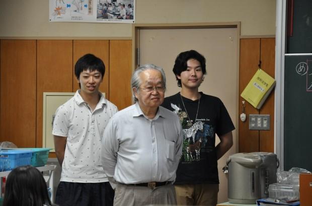 大塚先生とゼミ生