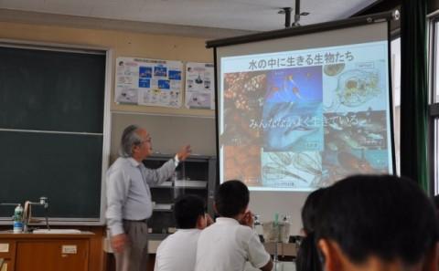 学外連携 倉敷市立西浦小学校出張講義を行いましたvol.1