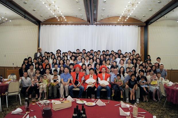 倉敷芸術科学大学教授還暦を祝う会