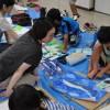 小学生向け絵画教室01