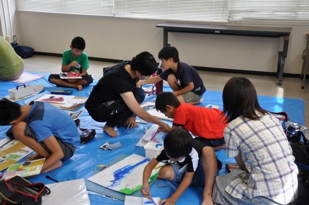 小学生向け絵画教室02