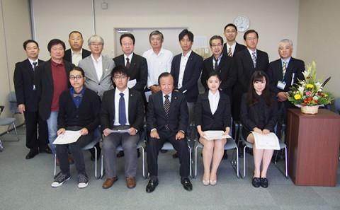 第18回森辰子留学生奨学金授与式の挙行