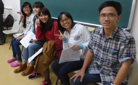 仲良くしよう!留学生別科で交流会