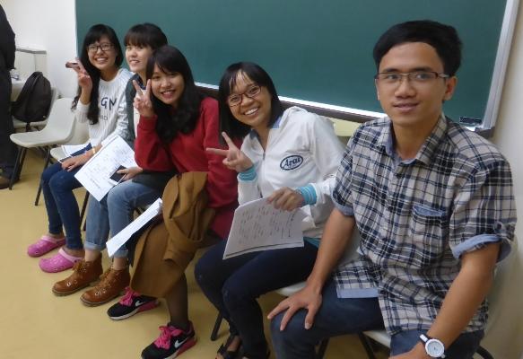留学生別科入学してきた新入生