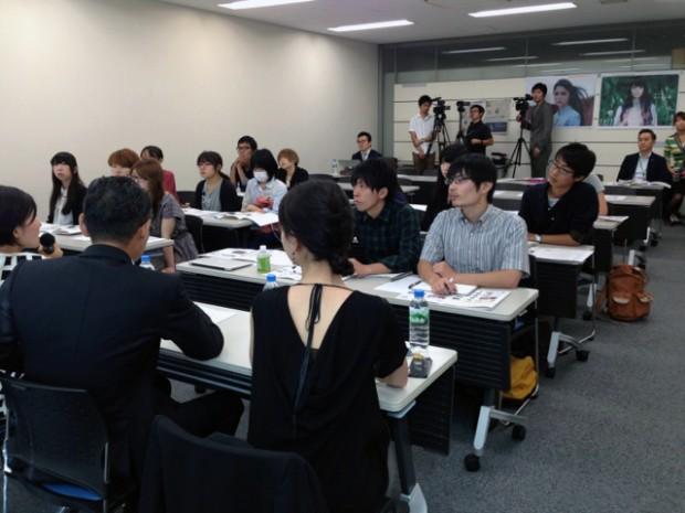 倉敷芸術科学大学芸術学部の学生さん達