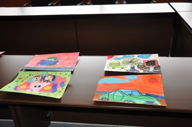 ベッキオバンビ―絵画コンテストの作品