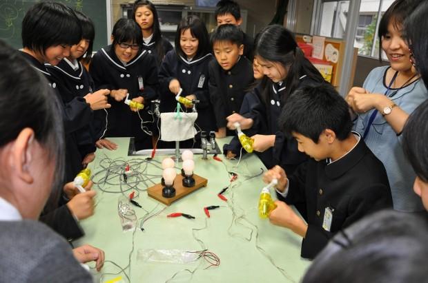 手動発電実験