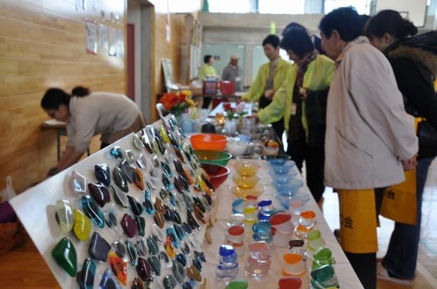 ガラス工芸作品の販売