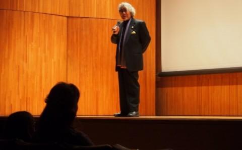客員教授 大林信彦監督作品「野のなななのか」上映会開催しました