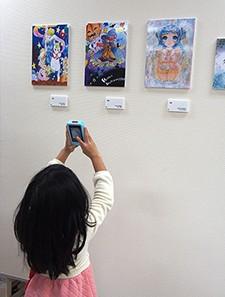 『倉魂!高校生コミックイラストコンクール2014展』開催しました