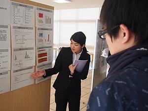 生命科学科『平成26年度卒業研究発表会』が開催されました