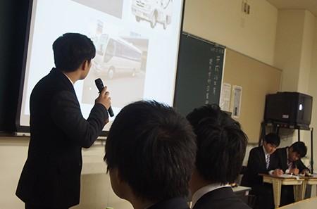観光学科『平成26年度卒業論文発表会』が開催されました