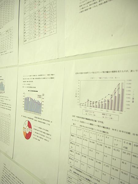観光学科平成26年度卒業論文発表会ポスター