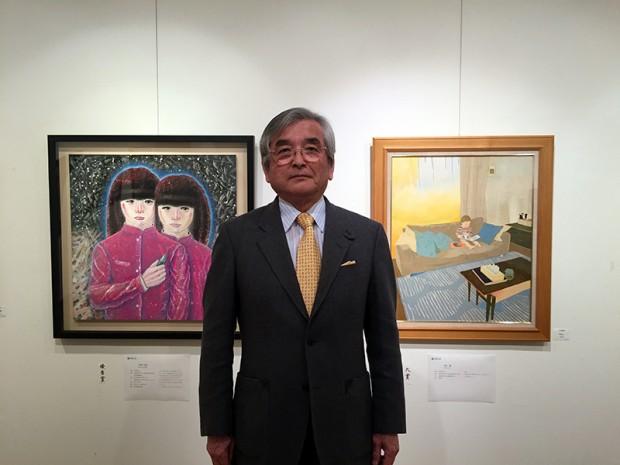 田村鎮男氏(元倉敷芸術科学大学芸術学部教授)