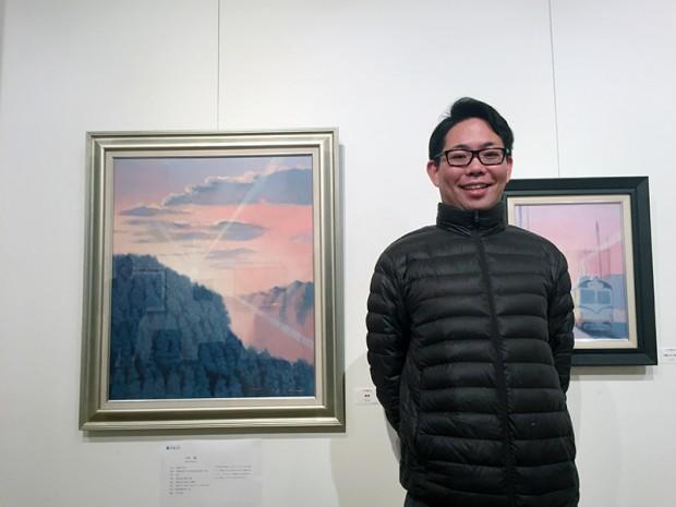 小松毅さん(1999年度芸術学部美術学科卒業)