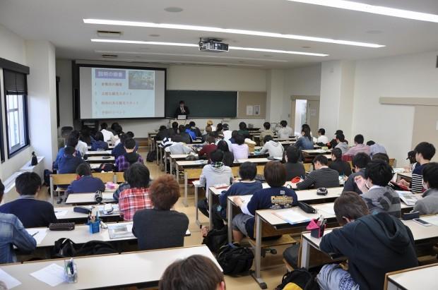 「倉敷まちづくり基礎論」講義風景