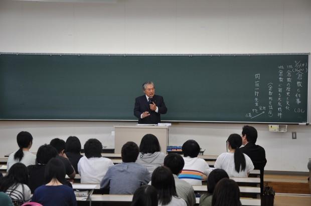 岡荘一郎先生の講義
