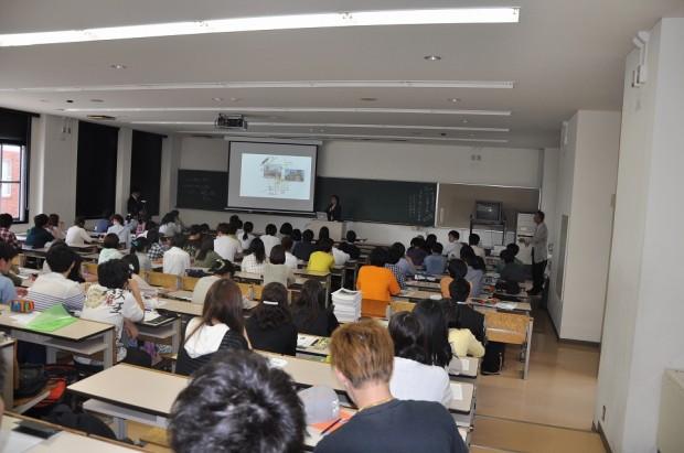 「倉敷と仕事」の講義風景